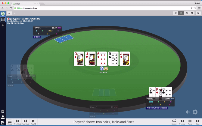 Poke It poker software