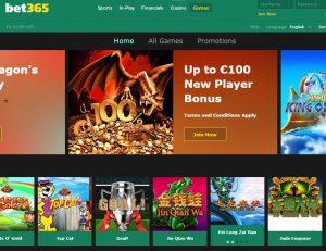 bet365 games screenshot