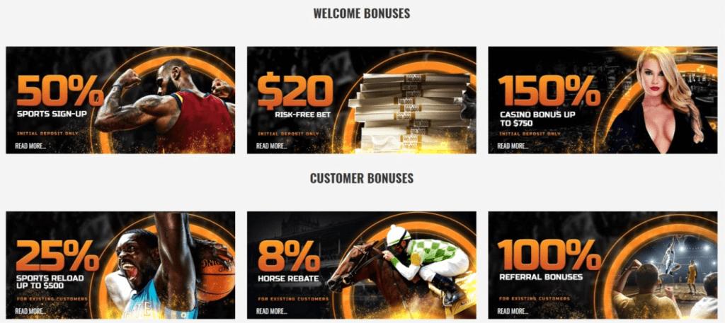 MyBookie bonus