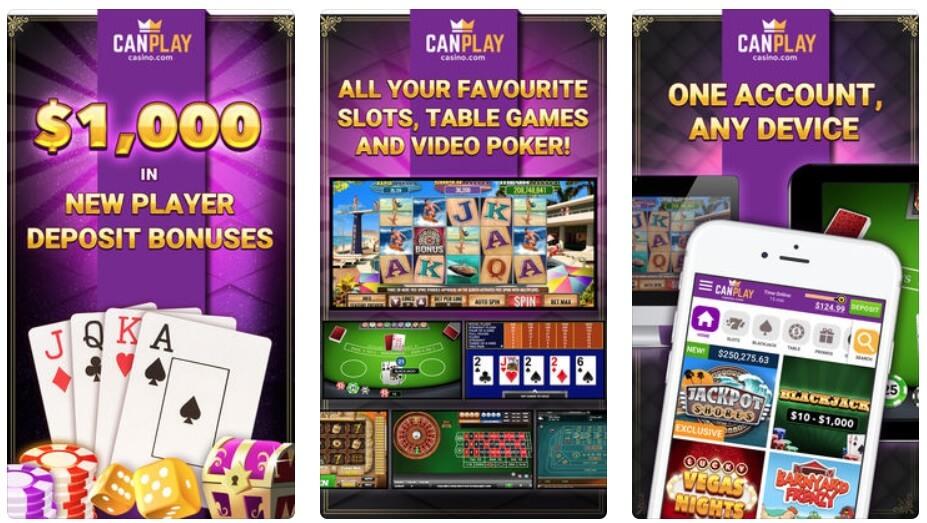 CanPlay Casino Mobile App