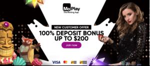 Moplay Welcome Bonus