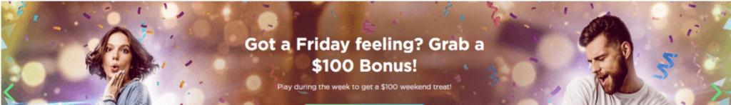 Spela Casino Friday Bonus