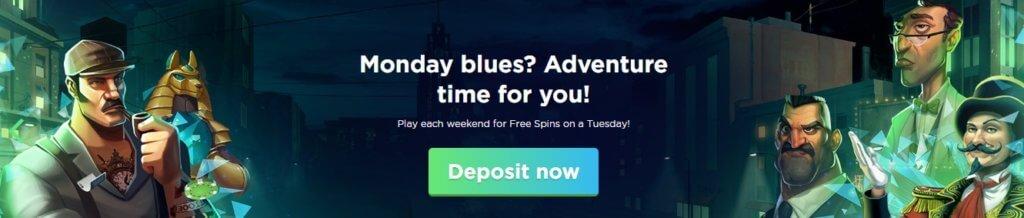 Spela Casino Tuesday Free Spins