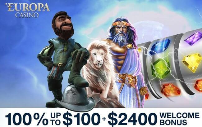 Europa Casino Bonus Code: Get C$2400 in Bonuses