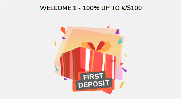 Playigo Welcome Bonus