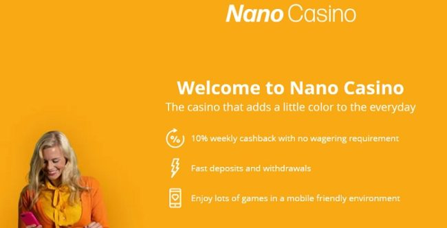 Nanocasino Bonus Code 2021: Get 100 Free Spins