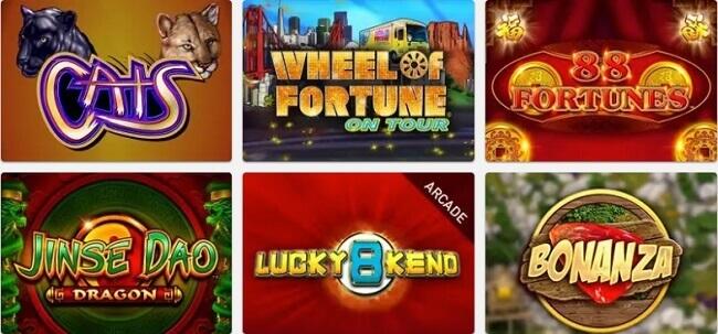 PlayNow Casino Games