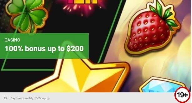 Unibet Casino Bonus Offer