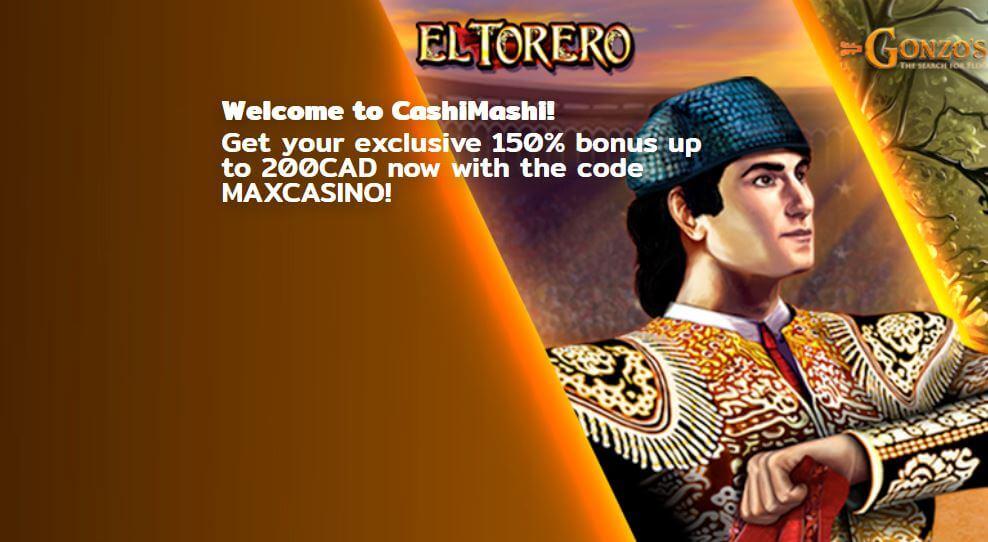CashiMashi casino bonus code guide