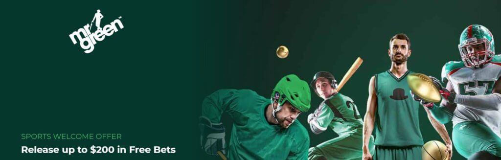 Mr Green Sports Welcome Bonus