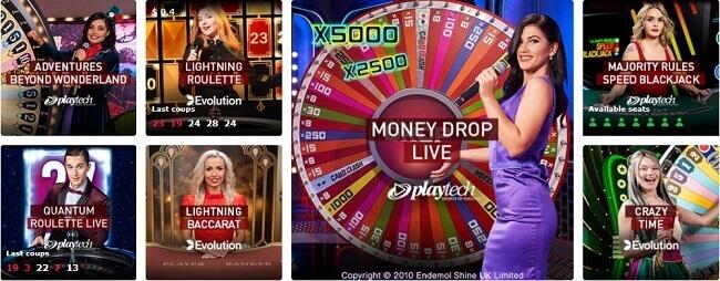 Casinoclub Live Casino Games