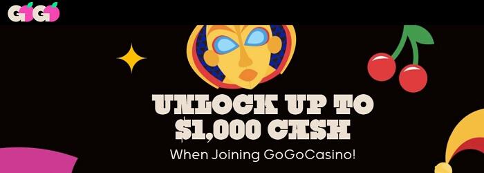 GoGo Casino Welcome Offer
