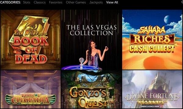 LuckyLouis Casino Games